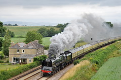 20100718    71000 Duke of Gloucester (paulbrankin775) Tags: torbay express 71000 duke gloucester wellington bank steam smoke br 8p beambridge beam bridge