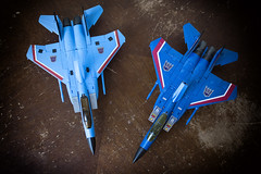 Gorgeous. (Jon..Hall) Tags: masterpiece transformers seeker seekers thundercracker hasbro igear jet altmode nikon nikond7100 d7100 toy toys toyphotography