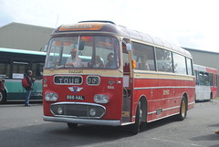 866HAL (30mog) Tags: plaxton aec 866 barton showbus 2016 donnington buses coaches 866hal bartons