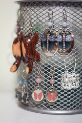 Organized | 257/366 (Cassidy Jade) Tags: 366the2016edition 3662016 day257366 13sep16 cy365 366 366project earrings jewlery organized