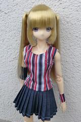 New outfit for Luluna!!! (Ninotpetrificat) Tags: luluna obitsu azone azonedoll doll japantoys japandoll muñeca ropademuñeca handmade hobby plisado toys juguete puppe dollclothes cute kawaii