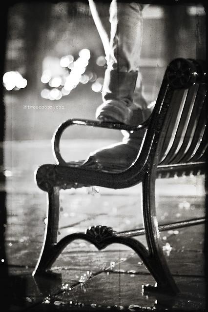 bench noire 326/365