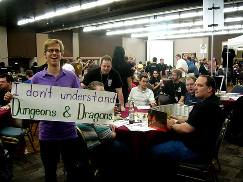 I don't understand Dungeons & Dragons.