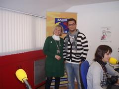 Carmen Bayod, en nuestros estudios (Radio Surco Albacete 95.0 Fm) Tags: carmen bayod