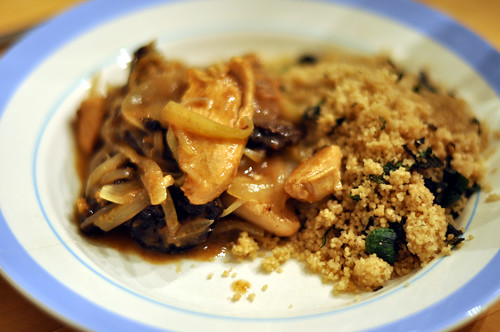 Marokkansk kylling med couscous