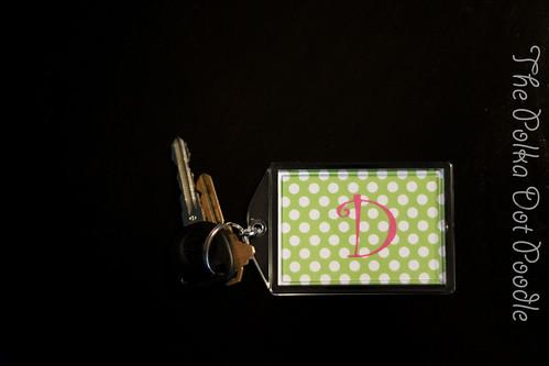 Key Chain single ltr