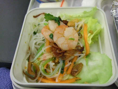 VN飛機餐-鮮蝦沙拉