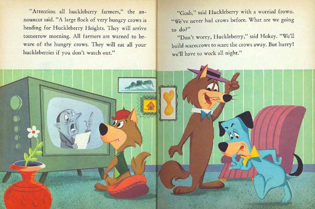 Hokey Wolf & Ding-a-Ling Featuring Huckleberry Hound006