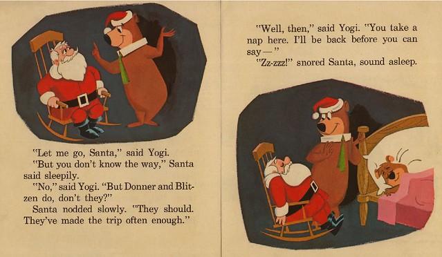 Yogi Bear Helps Santa007