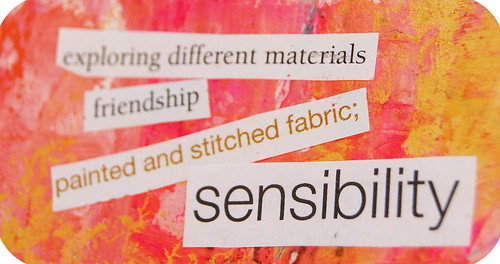 Art Journal Detail: more magic words