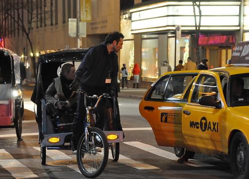 Pedicab Vs Taxicab
