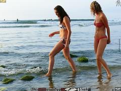 Swimsuit Bikini Models (45SURF Hero's Odyssey Mythology Landscapes & Godde) Tags: ocean morning girls sea sun hot sexy beach water beautiful beauty sand women long pretty surf waves surfer board surfboard fit wading