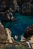 Boat (Kaunokainen) Tags: ocean blue sea summer portugal boat sand rocks europa europe estate view lagos algarve spiaggia cabodesaovicente portogallo iberianpeninsula sagres penisolaiberica