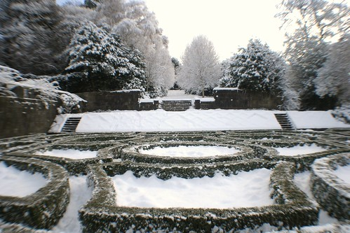 Parterre Garden in Winter