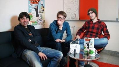 Ben Redelings, Lukas Heinser und Tommy Finke