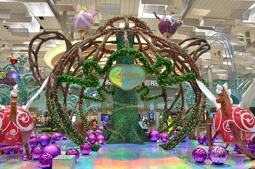 Christmas Fantasy at Changi Airport
