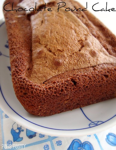 巧克力Pound Cake