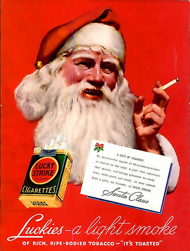 Smoke-up Santa