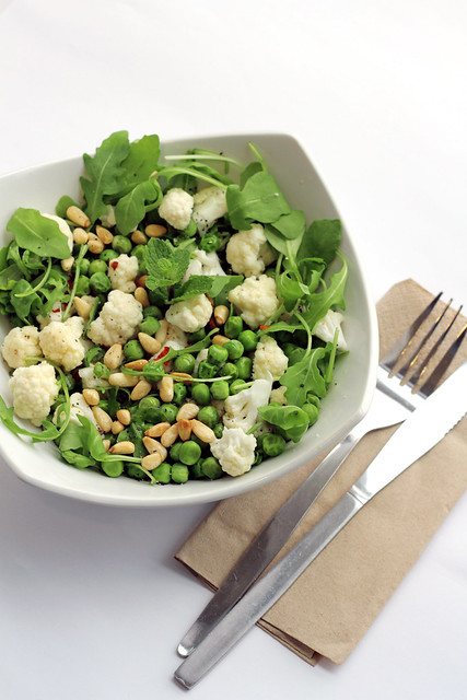 Peas, Cauliflower and Rocket - 97/365