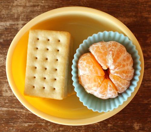 First Grader Snack #147: November 29, 2010