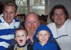 "Me, My Boys, and My GrandBoys! (Paul ""PTgizmo"" Turner) Tags: mike matt charlie kaiden"