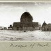 Panoramic photograph of the Dome of the Rock (Mosque of Omar), Haram al-Sharif, Jerusalem. Capt. Arthur Rhodes, 1917 (PEF-P-RHODES-111).