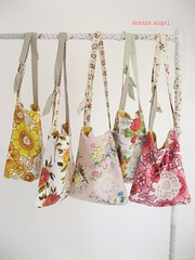 a cluster of... (dottie angel) Tags: vintage recycled handcrafted etsy eclectic barkcloth dottieangel