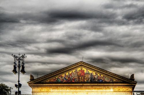 Museum of art. Budapest. Museo de arte