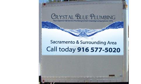 Crystal Blue Plumbing Wave