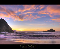 pull out all the stops (hirngespinste) Tags: ocean california statepark sunset sky usa cloud beach bigsur pfeiffer nikond90 panoramafotogrfico afsvrnikkor18200mm13556ged