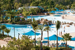 Cutback Cove & Big Surf Shores (SeaWorldParks) Tags: family vacation beach fun dolphins slides seaworld waterpark aquatica commersons