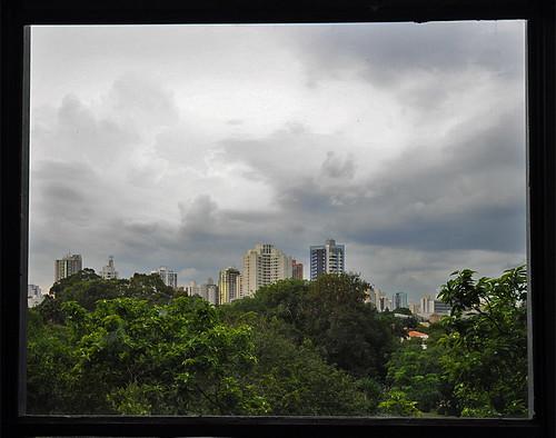 Sao Paulo aus dem Fenster