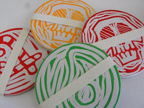 Letterpress Coasters!