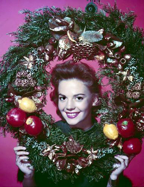 Merry Xmas from Natalie Wood
