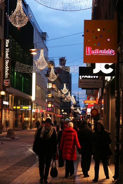 Stockholm i vinterskrud