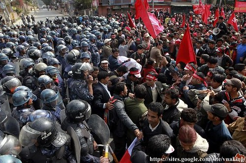 nepal_protest_ucpn_maoist_demonstration_revolution_communism_indian_embassy
