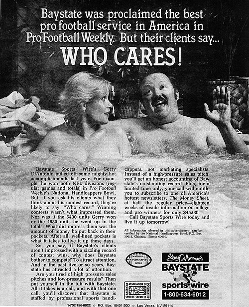 Vintage Ad #1,272: Who Cares?