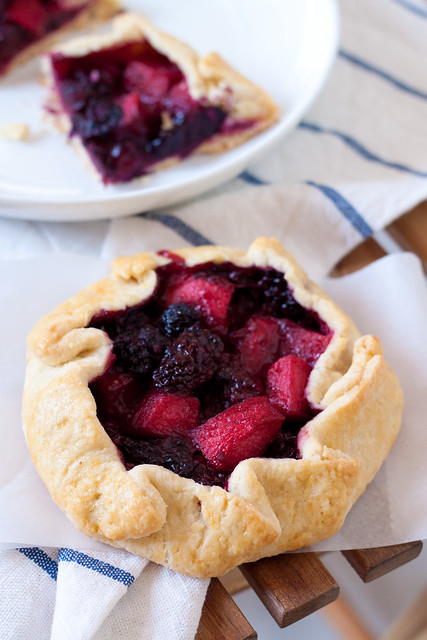 Blackberry-Apple Galette