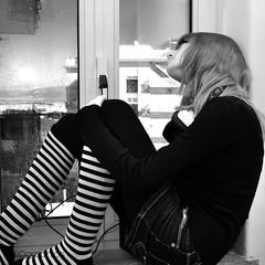 Danah @herself 3 (Ulligraphics) Tags: sky sun window girl rain socks model december alone finestra thoughts cielo farewell thinking headphones sole pioggia dicembre pensieri sola ragazza addio cuffie pensando calzini modella lamtumire shesmynewlovelylove3