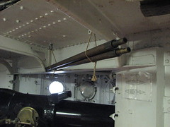 On the USS Olympia (FranMoff) Tags: boat gun ship navy cannon olympia artillery cruiser uss c6 ca15 protectedcruiser cl15 ix40