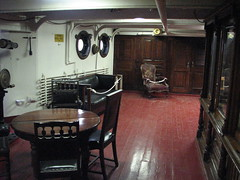 Stateroom and cabin of Commodore George Dewey, USN on the USS Olympia (FranMoff) Tags: table boat george cabin ship chairs navy commodore olympia dewey cruiser uss c6 stateroom ca15 protectedcruiser cl15 ix40