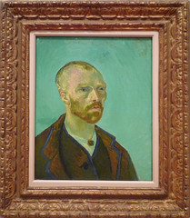 van Gogh, Self-Portrait Dedicated to Paul Gauguin with frame