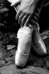 Restful Expression (amandanpowell) Tags: blackandwhite ballet feet hands ballerina legs huntsville alabama dancer pointe