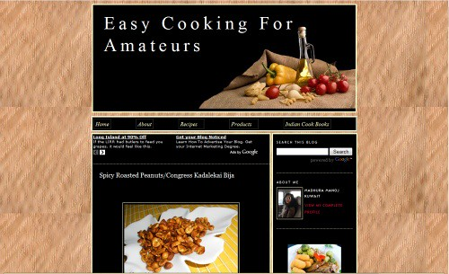 Easy Cooking For Amateurs