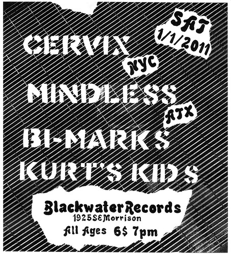1/1/2011 Cervix/Mindless/Bi-Marks/Kurt'sKids