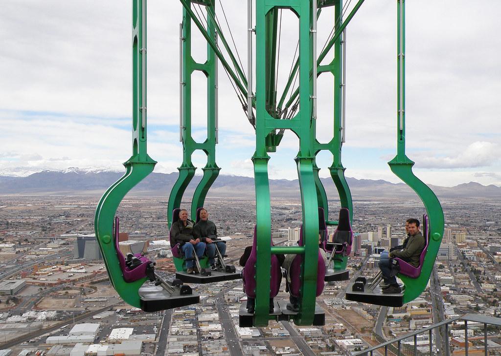 Stratosphere Hotel Casino - Insanity ride