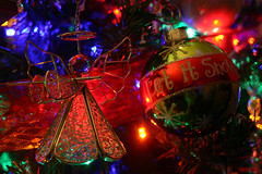 The Christmas Tree Angel (rcvernors) Tags: christmas xmas decorations holiday tree glass bulb angel lights wings twinkle christmastree sparkle ornaments christmasdecoration ribbon letitsnow christmasornaments artificialtree rcvernors rickchilders gettyholidays2010 thechristmastreeangel