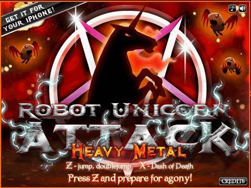 Robot Unicorn Attack Heavy Metal-00