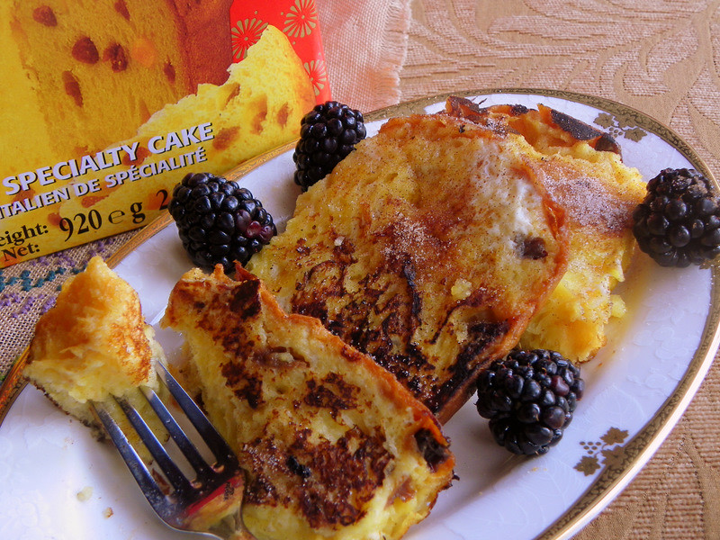 Making A Good Thing Better - Panettone French Toast