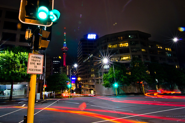 Auckland by night_